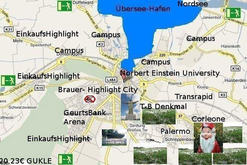 Agenda Google Maps 2015