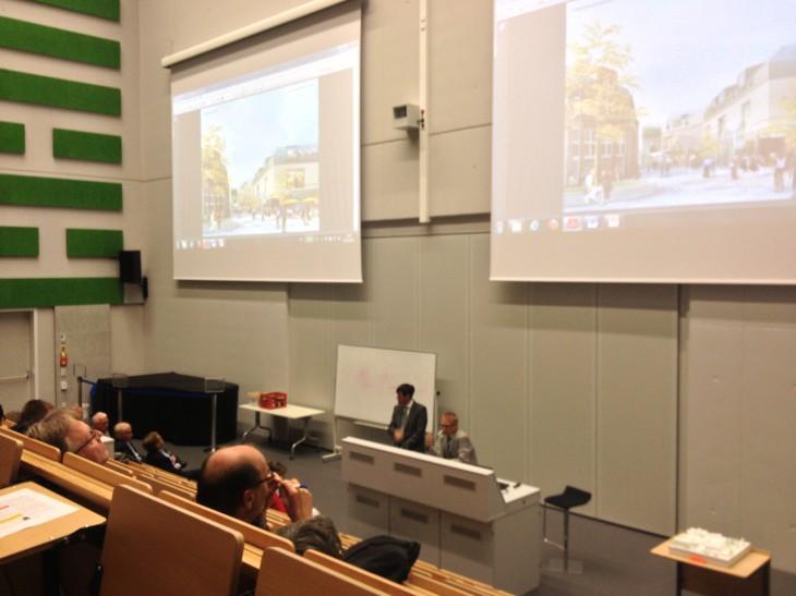 Wo Akademiker zu Hause sind: Bürgerinformation im Hörsaalgebäude der Hochschule Rhein-Waal