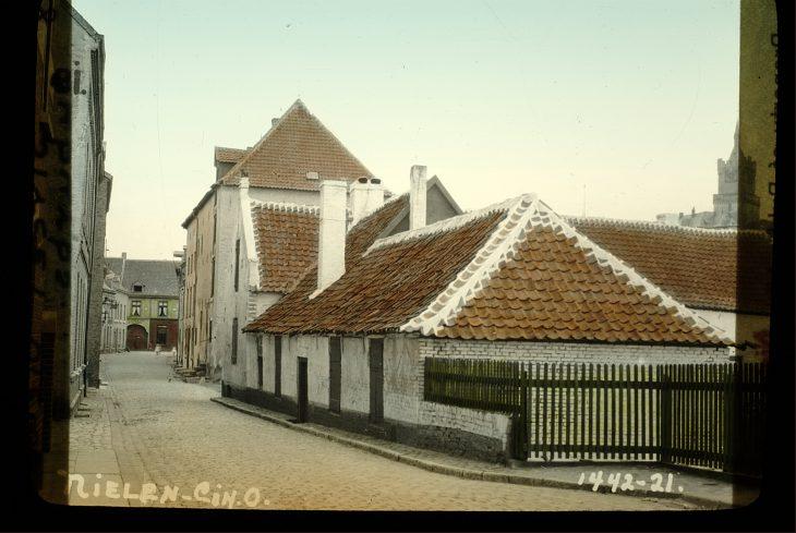 Pittoresk bis abbruchreif: Kleve, vermutlich 1921 (Foto Andries Nielen/NRZ)