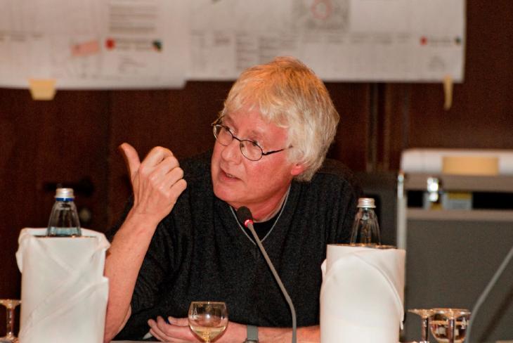 Saftige Wortwahl: Dr. Artur Leenders (Foto © Udo Kleinendonk)