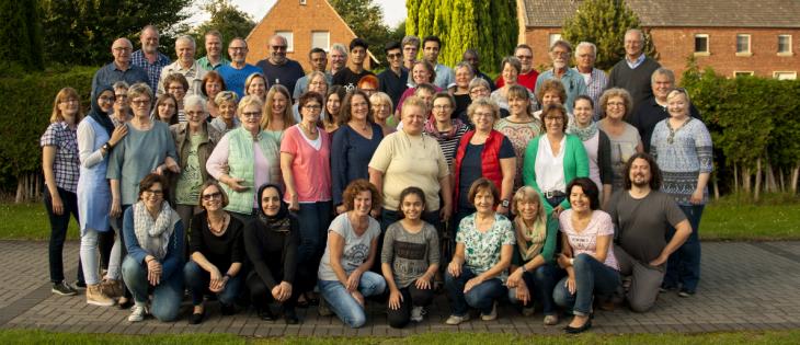 Eine multikulturelle Familie: die Family-Singers aus Pfalzdorf