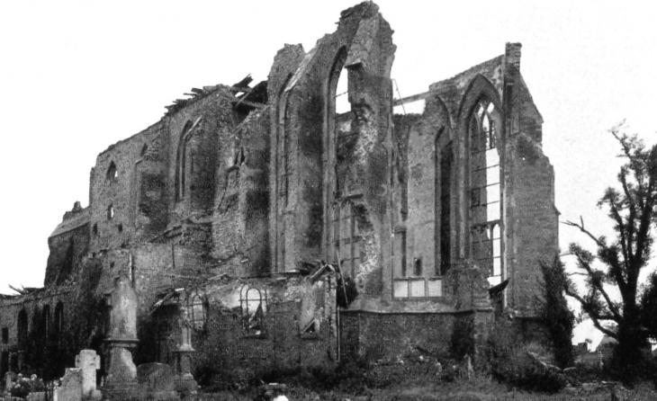 Auferstanden aus Ruinen: Zyfflicher Kirche 1948
