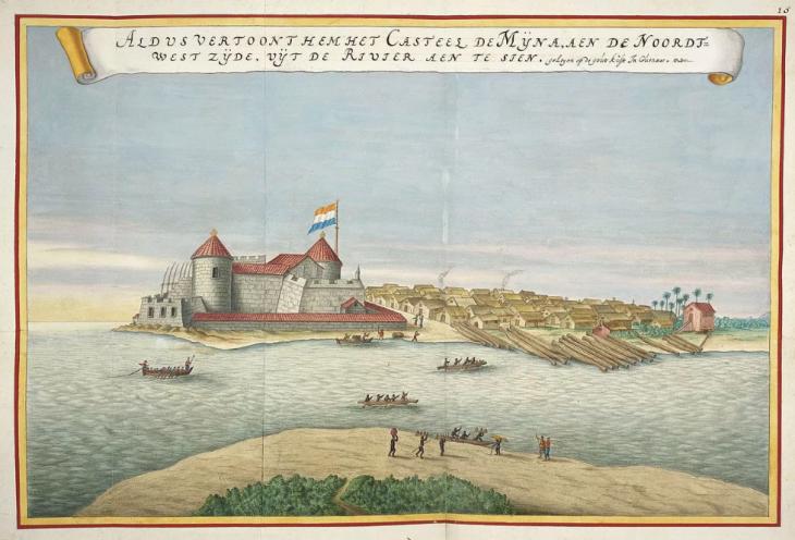 Fort Elmina (Ghana) – von der wurden die Sklaven nach Brasilien verschifft