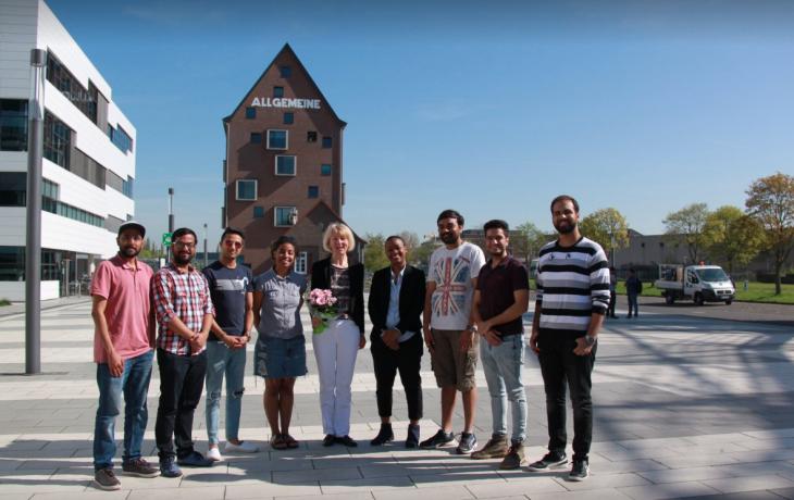 Bei den Studenten respektiert und beliebt: Dr. Heide Naderer (Foto: Facebook-Seite des AStA)