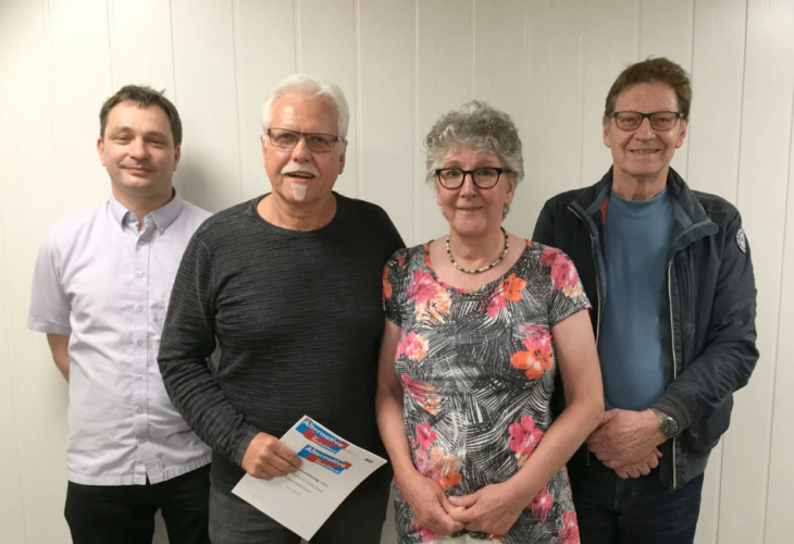 Georg Bastian, Lothar Lichtenstein, Sarina Mei und Hans Mayrhammer: Gesichter der AfD in Kleve