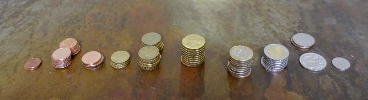 Fortgeschrittene könnten die Münzen auch nach Ländern sortieren