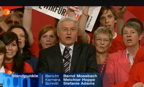 Hier ist noch alles in Butter: Frank links, Barbara rechts