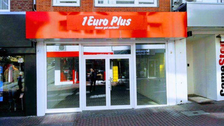 """Minus """"1 Euro Plus"""", so heißt die Bilanz für den Ladenbestand in der Großen Straße"""