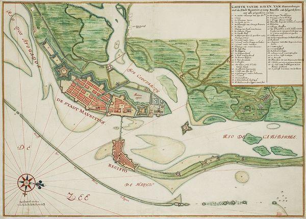 Mauritsstad, einst ein entlegener Handelsposten der Niederländer, heute eine Millionenstadt