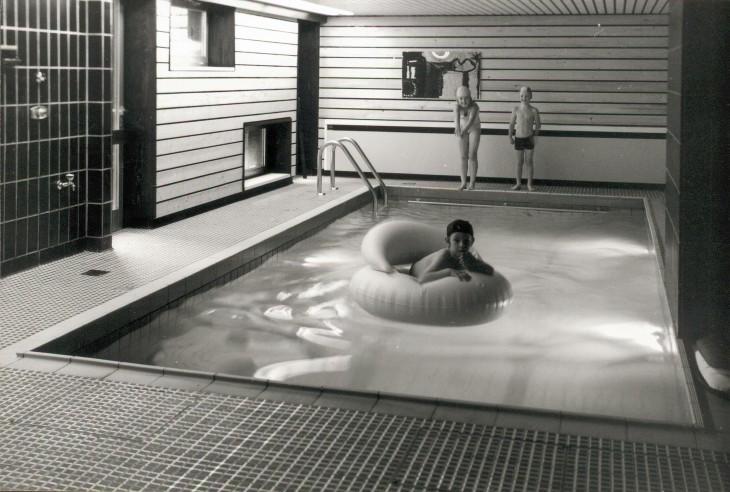 Schwimmbad im Keller: Gehobene Ausstattung, sagt der Makler in solchen Fällen