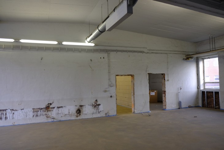 Noch erinnern die Innenräume eher an Garagen