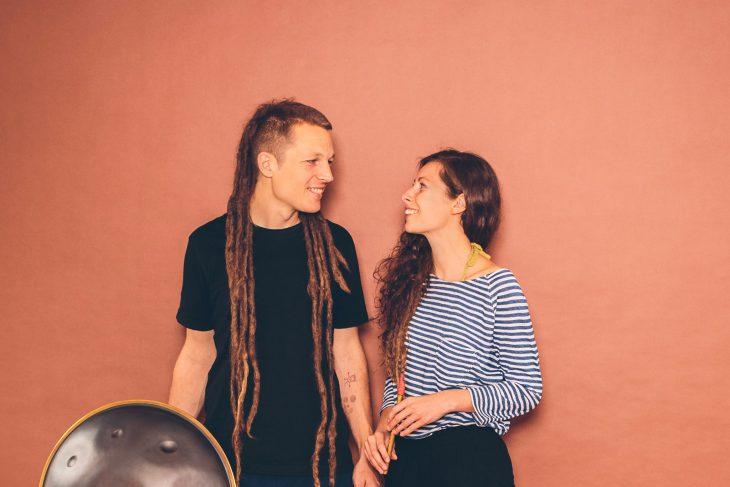 Jaron und Samantha huldigen der Polyrhythmie auf dem Meyerhof
