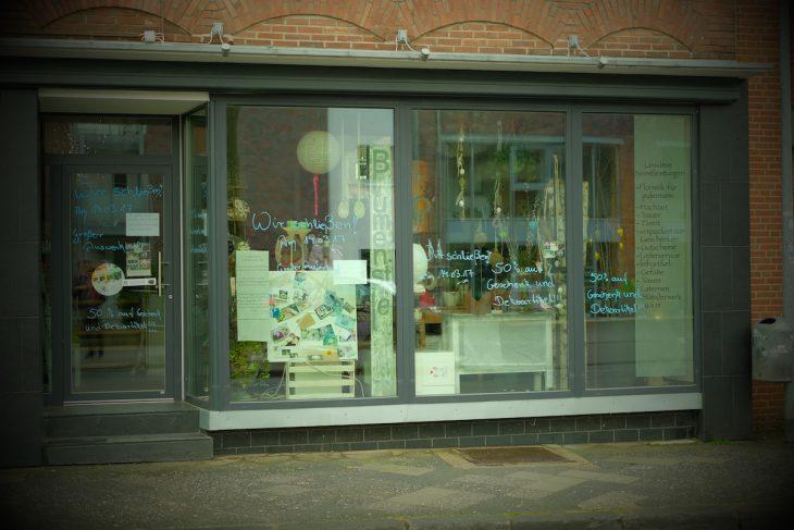 Trauerfloristik in eigener Sache: Blumenstiel, Hagsche Straße, schließt
