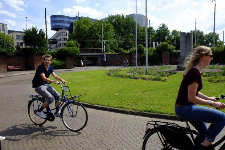 Kreisverkehr  – aber nur für Radler