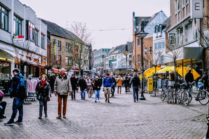Quell zeitloser Erkenntnisse: die Klever Fußgängerzone (inkl. angrenzender Seitenstraßen)