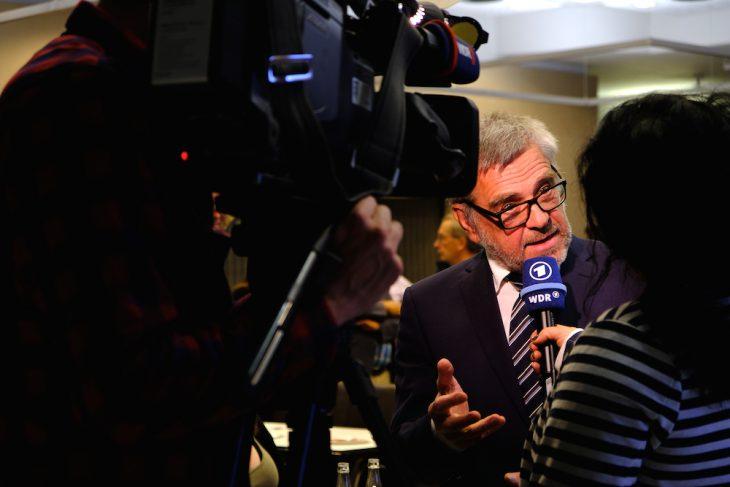 Das Gesicht der AfD in Kleve: Gerd Plorin