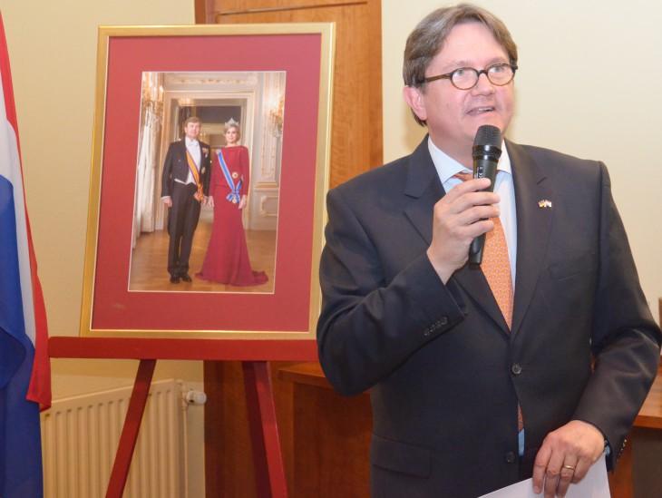 Charmante Begrüßung: Honorarkonsul Freddy Heinzel fand für die zahlreichen Gäste die richtigen Worte