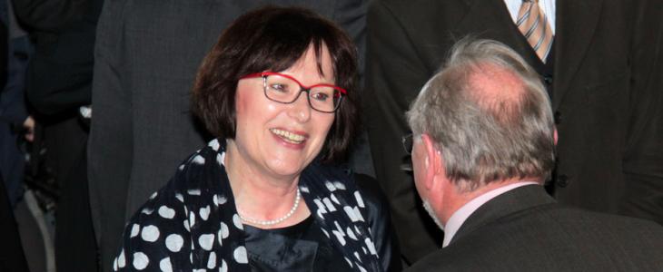Jedem Ende wohnt ein Anfang inne: Marie-Louise Klotz, seit drei Tagen Vorstand der Cognos AG