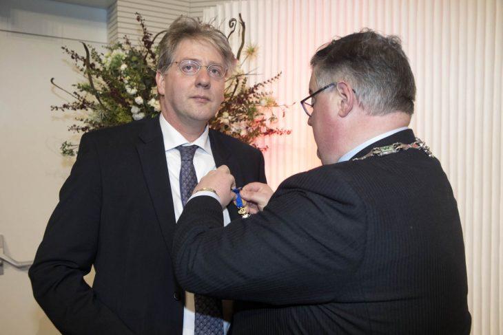 """Anfang des Jahres erhielt Prof. Gerardus Meijer den höchsten zivilen Verdienstorden der Niederlande: """"Ritter im Orden des niederländischen Löwen"""". Jetzt trat er als vorsitzender des Klever Hochschulrats zurück (Foto: HSRW)"""