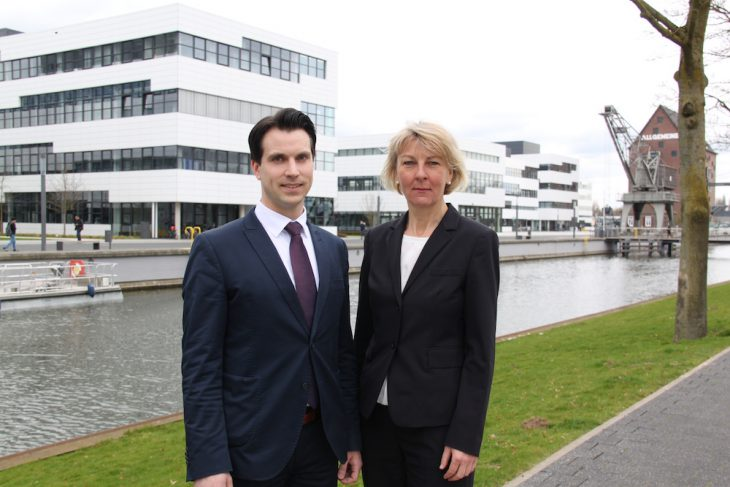 Ton in Ton: Dr. Heide Naderer und Michael Strotkemper