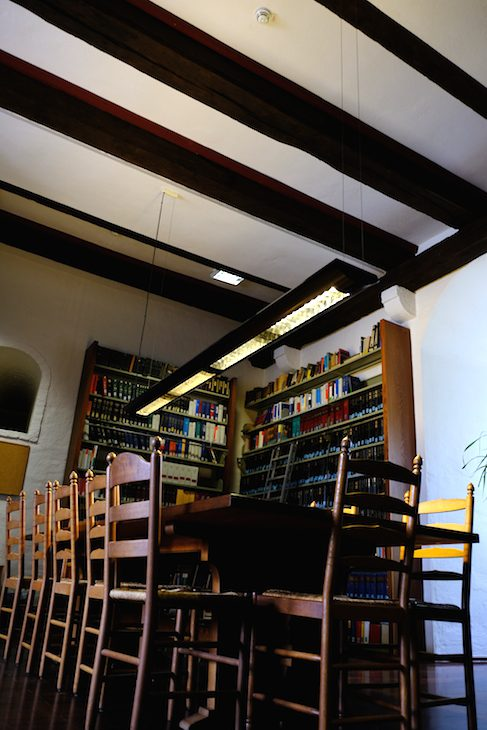 Wird bald ultrahocherhitzt: Justizbücherei in der Schwanenburg