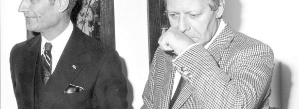 Darauf eine Prise Schnupftabak: Helmut Schmidt 1978 in Kleve (Foto © Stadtarchiv Kleve
