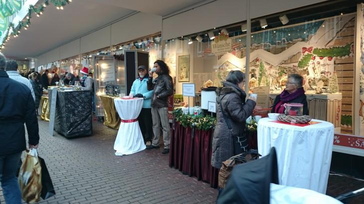 eimzelle des zukünftigen innerstädtischen Weihnachtsmarkts?