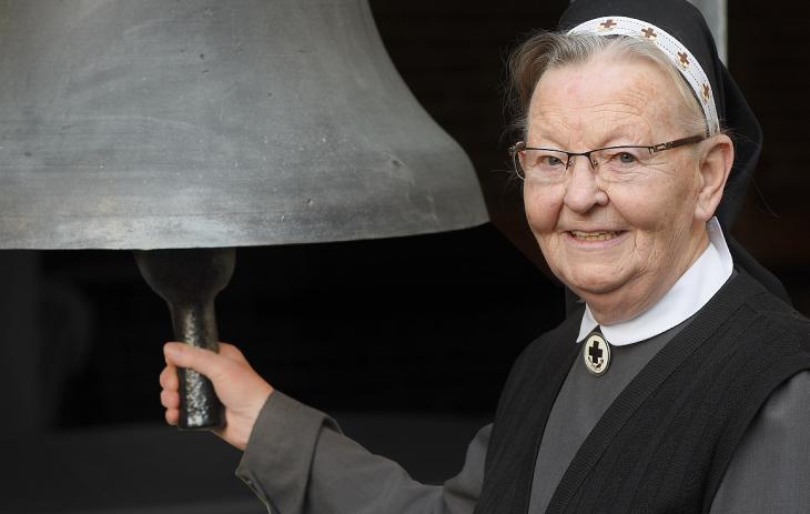 Ein Leben für Gott: Schwester Cäcilia (Foto: KKLK)