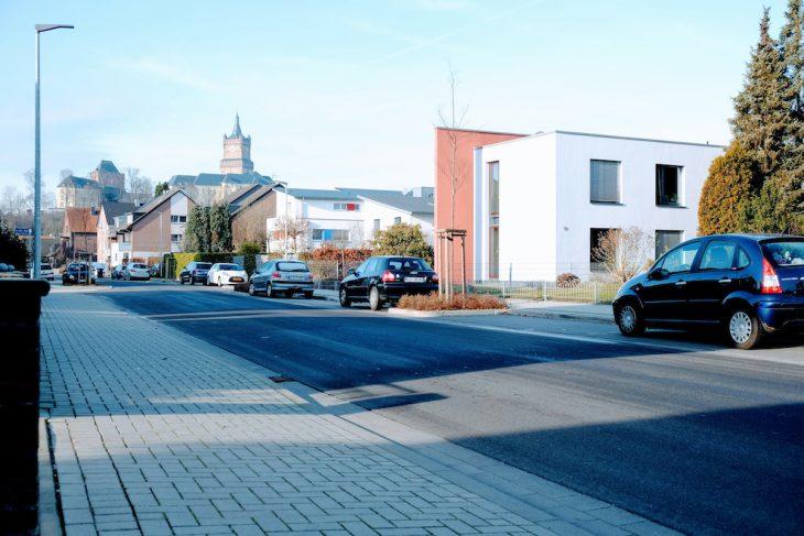 Königsgarten, Anfang 21. Jahrhundert: Parkbuchten für Bäume