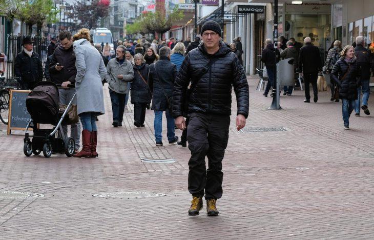 Jürgen Krawath in der Klever Fußgängerzone – dafür ist nur noch am Wochenende Zeit