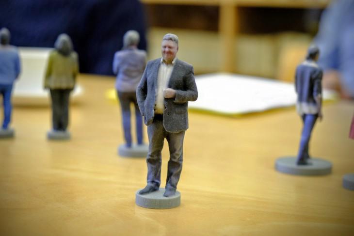 Es kann vielleicht doch nicht nur einen geben: Prof. Harald Kunde als 3-D-Druck