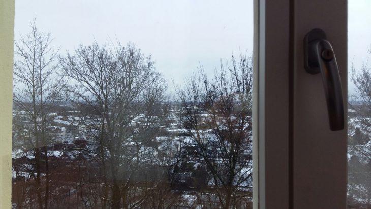Für diesen Blick aus dem Fenster der Schwanenburg auf das verschneite Kleve hatten die Angeklagten gestern nichts übrig