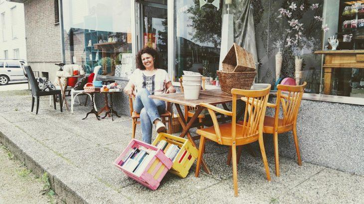 Kreativ-Kommode: Melanie Liewes zog es nach Rindern