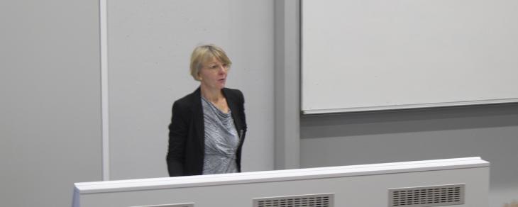 Klare Vorstellungen für die Zukunft der Hochschule: Dr. Heide Naderer