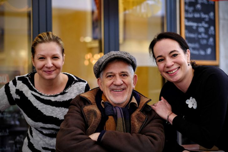 """Drei Namen mit """"a"""": Alexandra, Ilja, Pia – nicht der einzige Zufall an diesem regnerischen Novembertag"""