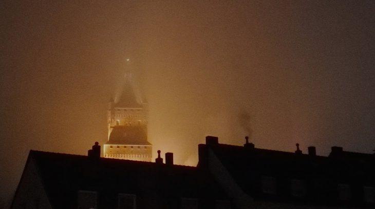 Tempus fugit: Ein Foto, wie es nur gestern gegen 21 Uhr möglich war.