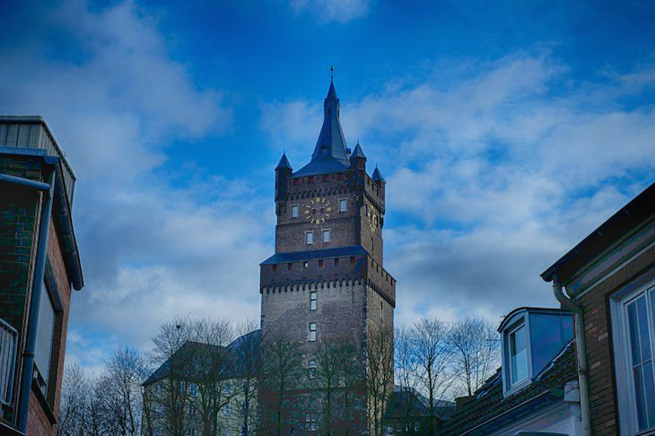 Time not my north side: Schwanenturm