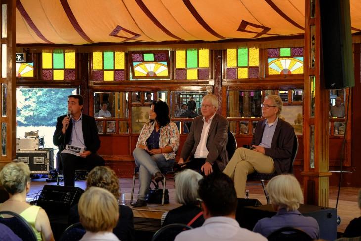 Kulturgespräch, Gesprächskultur: Moderator Gebbink, drei Kandidaten
