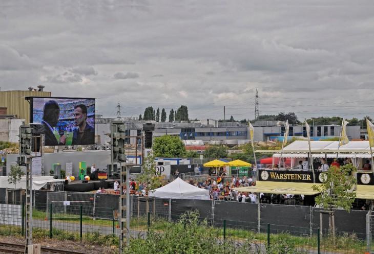 FanPark: Fußball in Massen genießen (Foto © Udo Kleinendonk)