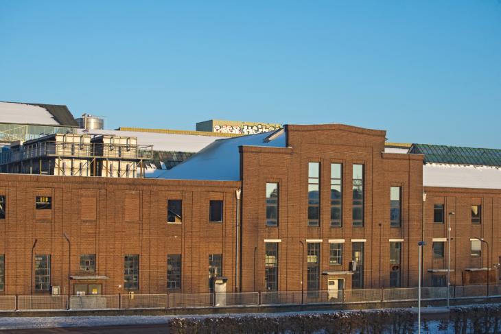 Schöne Fassade, viel Platz: Union-Fabrik, denkmalgeschützter Teil (Foto: Kleinendonk)