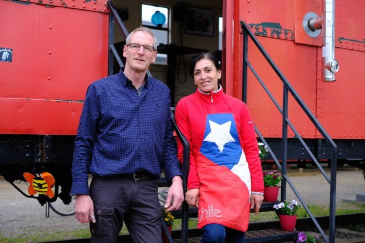 Es fährt ein Zug nach Südamerika: Franz Vierboom, Alejandra Manthey