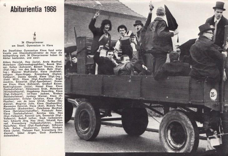 """Sie nannten sich noch Oberprimaner und nicht """"Jahrgangsstufe 13"""": Abiturienten 1966"""