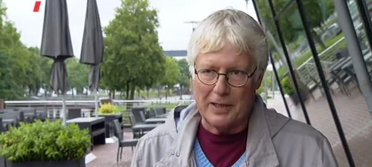 Dr. Artur Leenders im WDR-Interview (Screenshot: WDR)