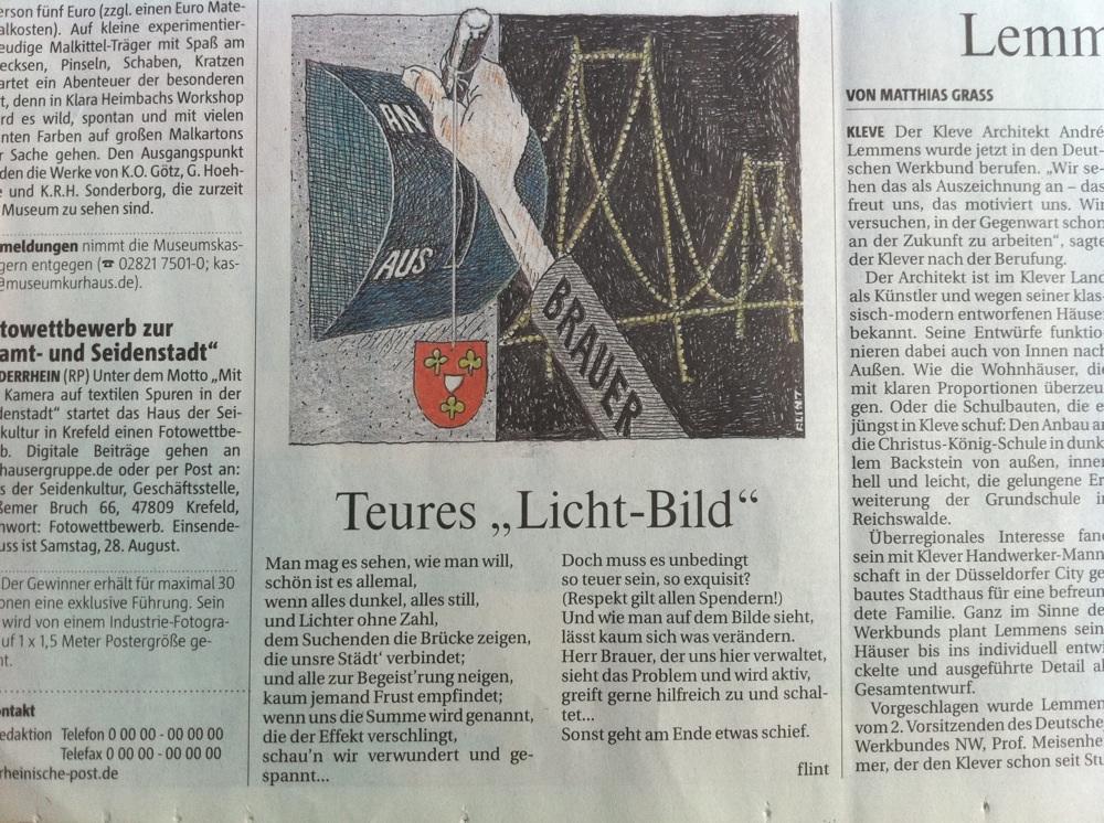 """kleveblog - » 1000 Meisterwerke: """"Teures 'Licht-Bild\'"""""""