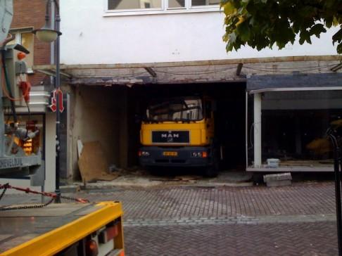 Bequemes Parken auch für Truckbesitzer