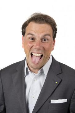 Um auffällige Posen nicht verlegen: Sven Rickes